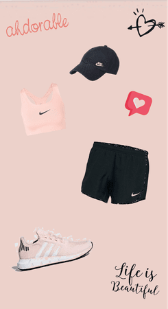 Nike pink out