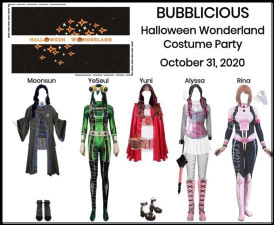 BUBBLICIOUS (신기한) Halloween Wonderland Party