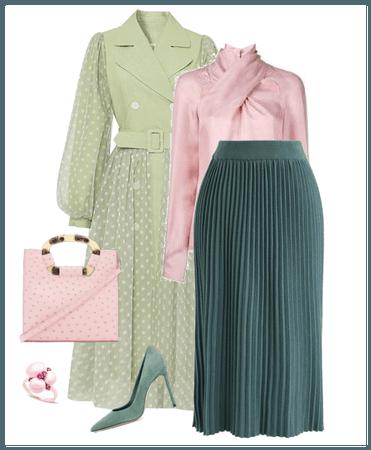 green / pink /spring
