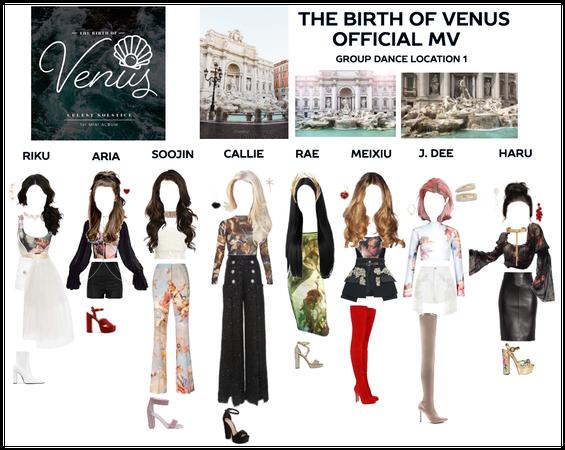 THE BIRTH OF VENUS - Group Dance 1