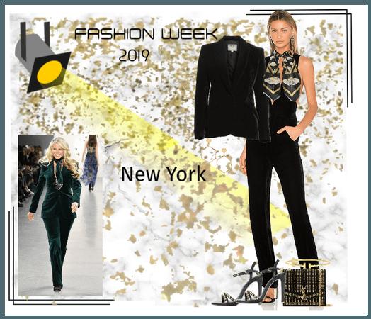 Runway Style ~ NY Fashion Week