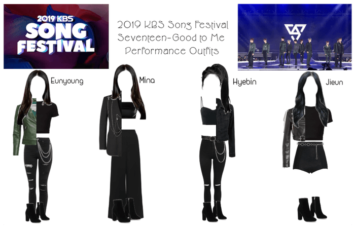 2019 KBS Song Festival Performance Outfits