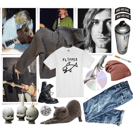 Kurt Cobain Aesthetic