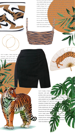 tiger 🐅   favorite animal challange