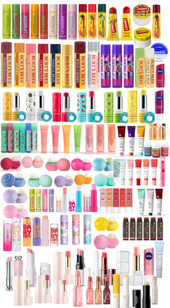 lip balm colection