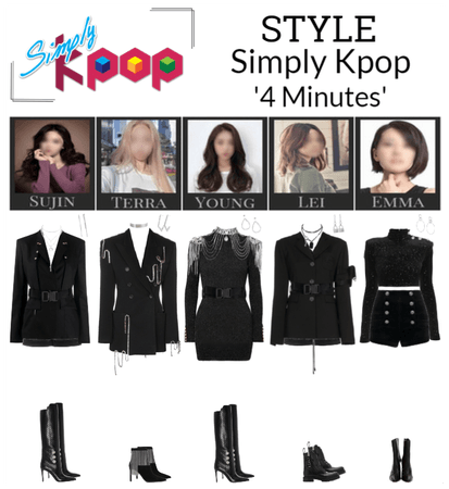 STYLE Simply K-Pop '4 Minutes'