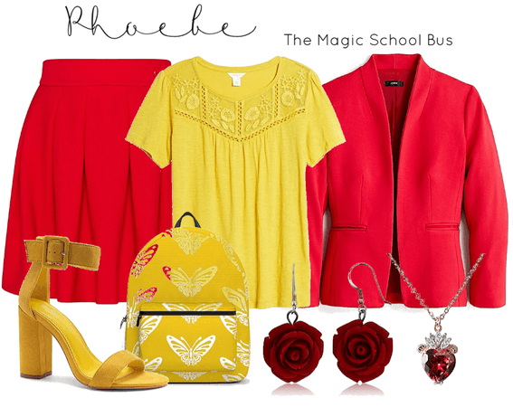 phoebe - the magic school bus