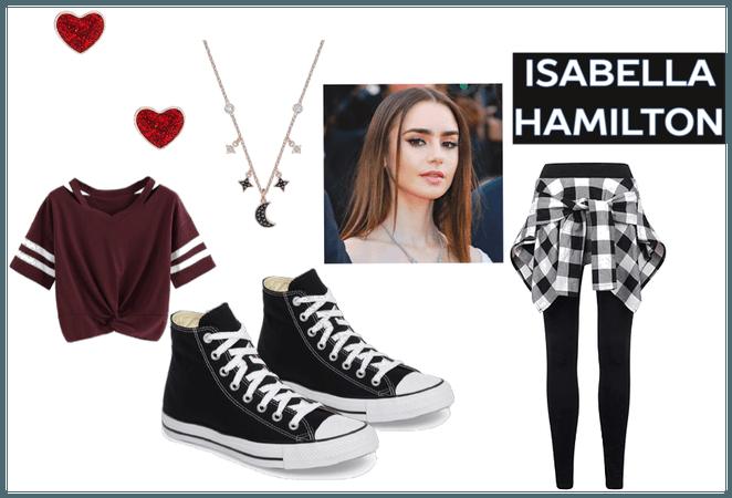 Isabella Hamilton Main outfit    MODERN AU