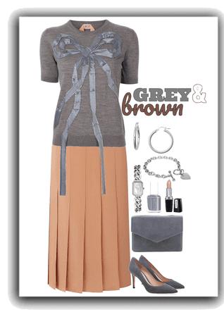 Grey & Brown Challenge