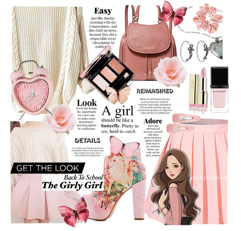 Get The Look: Girly Girl School Outfit