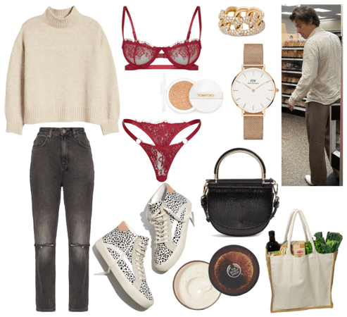 Grocery Shopping w/ Harry