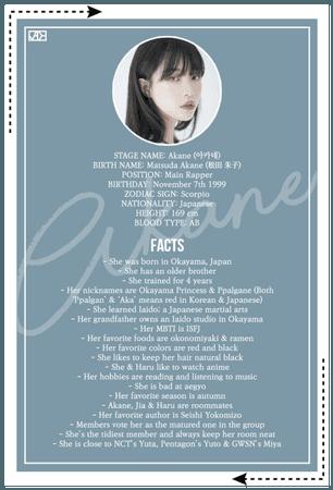 JADE (제이드) AKANE Profile