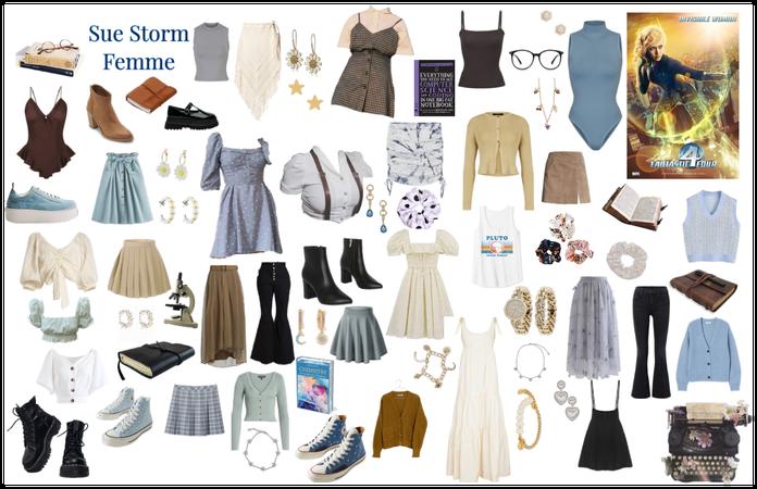 Sue Storm Femme