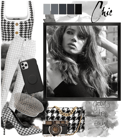 Chic Houndstooth