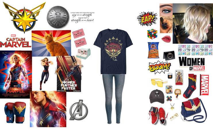 Captain Marvel Inspired
