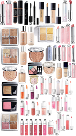 All my Dior make up