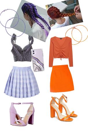purple and orange challenge