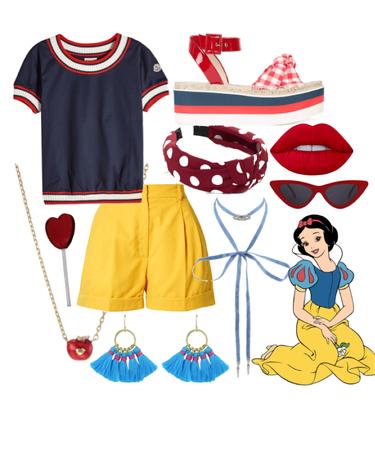 Snow White: warm day