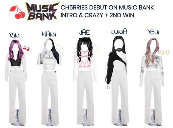 [CH5RRIES] MUSIC BANK DEBUT