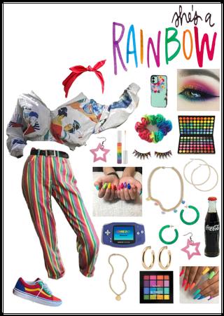 Shes a rainbow