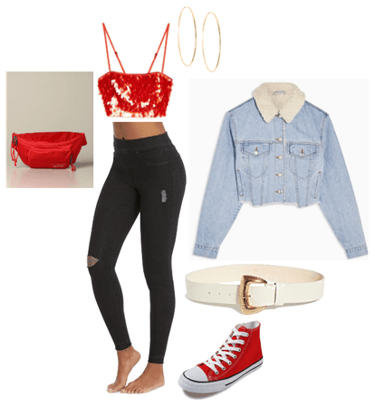Night Out, Cherry Red, Chic