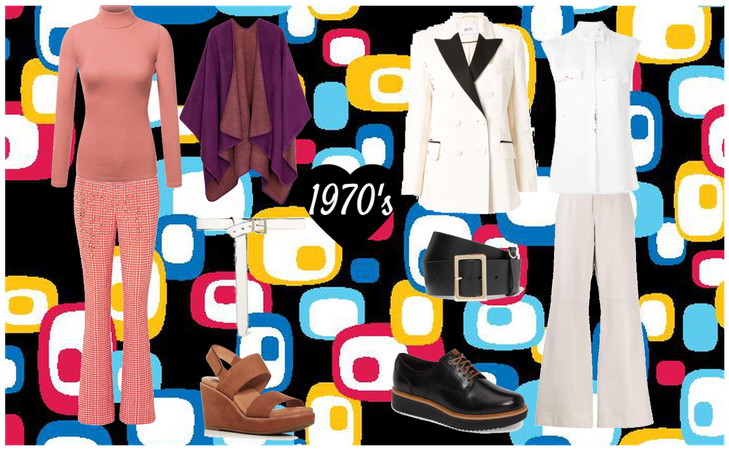 1970's Men and Women Outfits