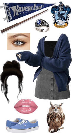 Hogwarts Lookbook: RAVENCLAW