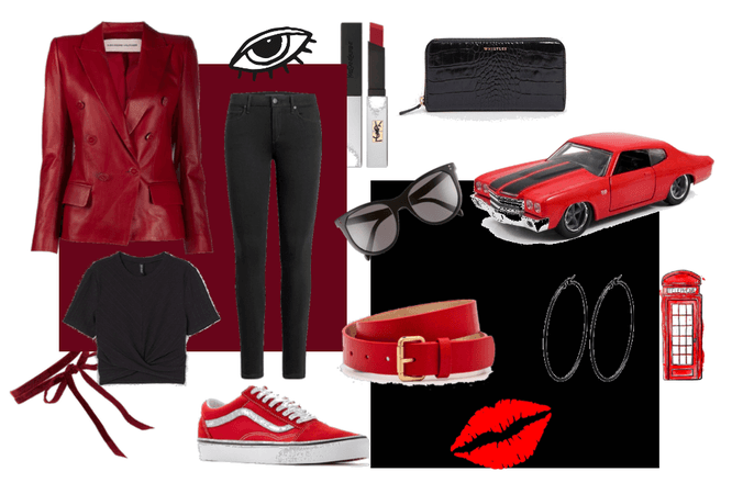 Red and Black (takes me back) to summer