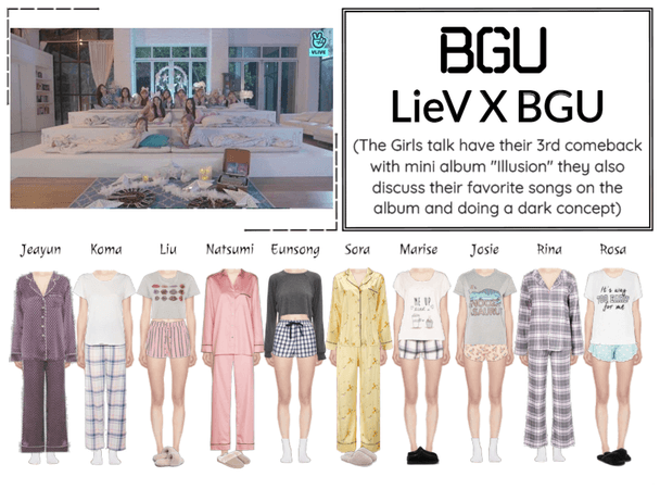 (BGU) LieV X BGU On Vlive App
