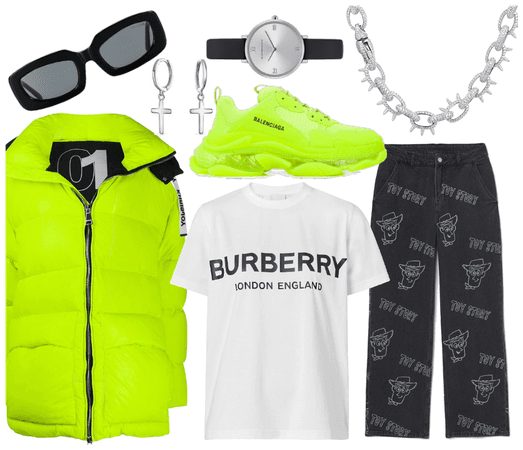 Neon X Burberry X Toy Story