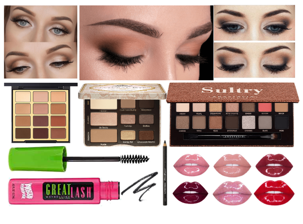 Look #4 - Soft and Go glam