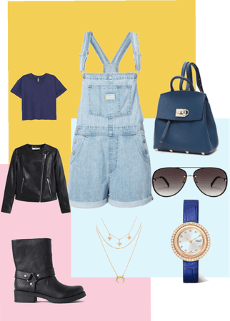 overalls for the win!