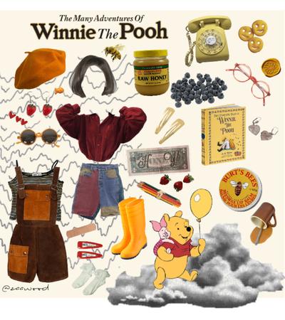 Winnie the pooh's look