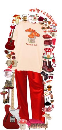 mushroom guitarist