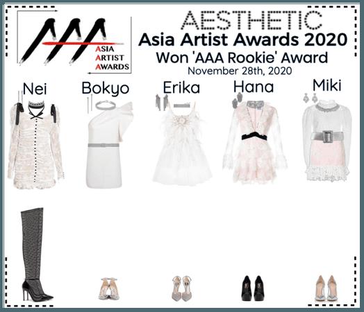 AESTHETIC (미적) [ASIA ARTIST AWARDS 2020]