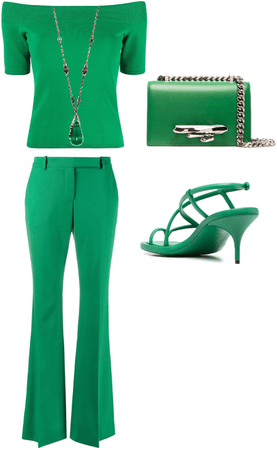 Green - Alexander Mcqueen