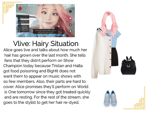 Dei5 Vlive | Hairy Situation with Alice