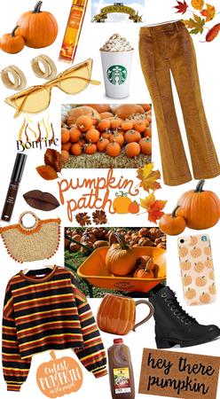 70s Pumpkin Patch