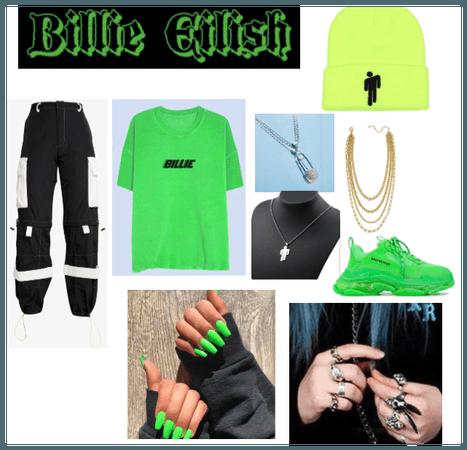Billie eilish fan outfit