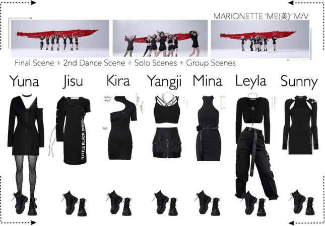 MARIONETTE (마리오네트) 'ME(美)' M/V | Final Scene + 2nd Dance Scene + Solo Scenes + Group Scene