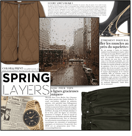 Fashion File: Reading The Paper Under The April Showers - Contest