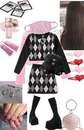 Schoolgirl's Glam Makeover