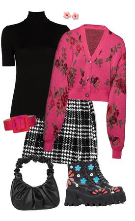 black n pink mod