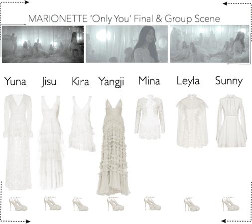 MARIONETTE (마리오네트) 'Only You' M/V | Final & Group Scene