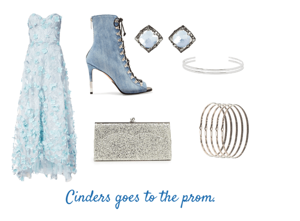 Cinders does dresses.