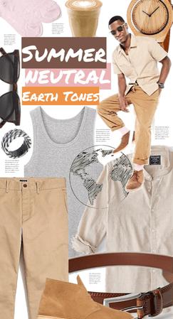 SUMMER NEUTRAL EARTH TONES