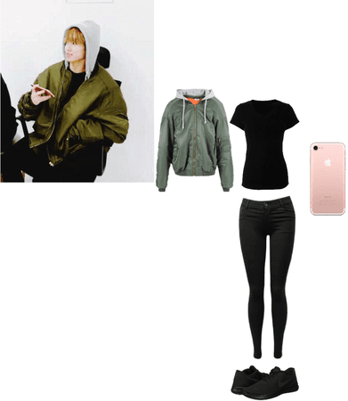 Jungkook Inspired Outfit