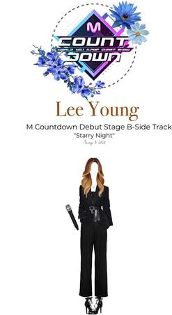 """[Lee Young] M Countdown Debut Stage B-Side Track """"Starry Night"""""""
