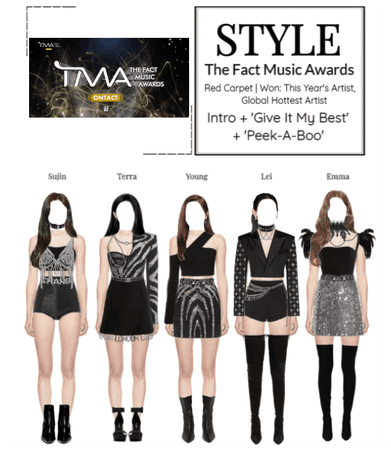 STYLE The Fact Music Awards 2020