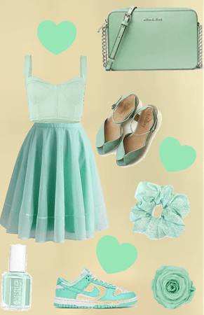 all mint green!!